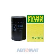 Фильтр масляный MANN W 719/15