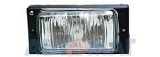 Фара противотуманная ВАЗ 2110-15/2123 АВТОСВЕТ (под лампу H3) без лампы 201.3743-01 (1шт.)