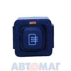 Выключатель обогрева заднего стекла ВАЗ 21093 с подсветкой АВАР 376.3710-04.04