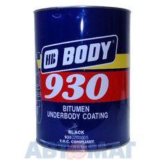 Антикоррозийный состав Body 930 черный 5л