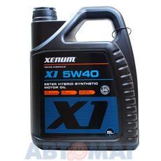 Масло моторное Xenum X1 5w40 5л синтетическое с эстерами