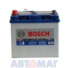 Аккумулятор BOSCH S4 Silver 560 411 054 (0092S40250) - 60 А/ч 540 А