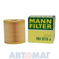 Фильтр масляный MANN HU 819 x