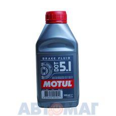 Тормозная жидкость Motul BF FL DOT - 5.1 0,5л синтетическая