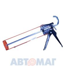 Пистолет для герметика стальной скелетный усиленный  (Tulips Tools)
