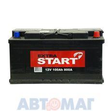 Аккумулятор EXTRA START (Катод) - 100 А/ч 800А +D