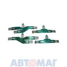 Плата заднего фонаря ВАЗ 2111 фольга (к-т 4шт)