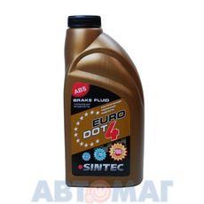 Тормозная жидкость Sintec EURO DOT-4 (0.455L) (R)