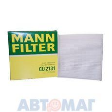 Фильтр салонный MANN CU 2131