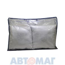 Подушка декоративная PORSCHE (серая) (иск.замша) (к-т2шт)