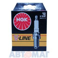 Комлпект свечей зажигания NGK V-Line №38 BKR6EZ (4шт)