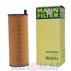 Фильтр масляный MANN HU 831 x
