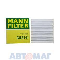 Фильтр салонный MANN CU 2141