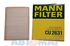 Фильтр салонный MANN CU 2631