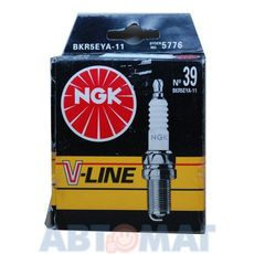 Комплект свечей зажигания NGK V-Line №39 BKR5EYA-11 (4шт)
