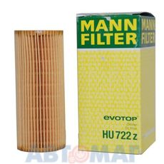 Фильтр масляный MANN HU 722 z