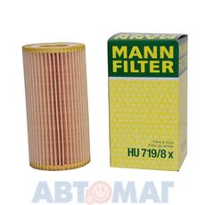Фильтр масляный MANN HU 719/8 x
