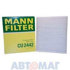 Фильтр салонный MANN CU 2442