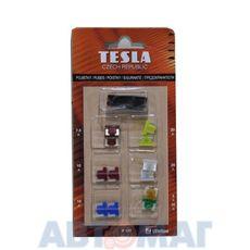 Предохранители плоские Super-mini TESLA F117 к-т (5-30 A) с пинцетом