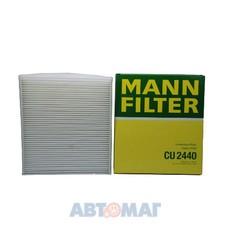 Фильтр салонный MANN CU 2440
