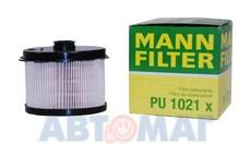 Фильтр топливный MANN PU 1021 x