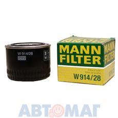 Фильтр масляный MANN W 914/28