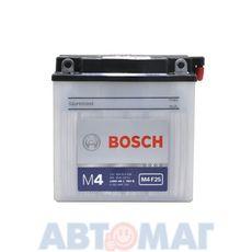 Аккумулятор мото BOSCH 509 014 008 - 9 А/ч 80 А (136*76*134) 12N9-4B-1