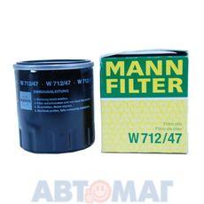 Фильтр масляный MANN W 712/47