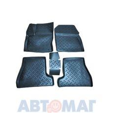 Ковры салонные резин. Ford Focus 3 2011 (к-т)