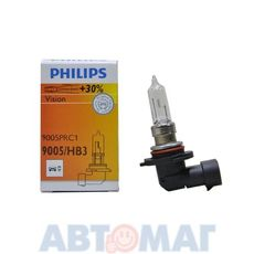 Автолампа PHILIPS Premium HB3(9005) 65W 12V