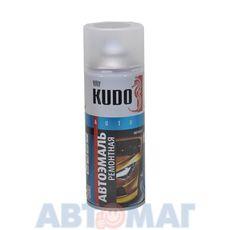 """Эмаль алкидная автомобильная номерная металлик """"Ford Foсus silver светло-серебристый"""" аэрозоль KUDO 520мл"""