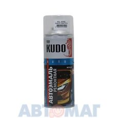 """Эмаль алкидная автомобильная номерная металлик """"Huindai D01 черный """" аэрозоль KUDO 520мл"""