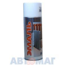 Эмаль алкидная для радиаторов отопления белая аэрозоль KUDO 520мл