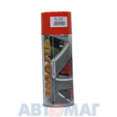 Эмаль алкидная для суппортов красная аэрозоль KUDO 520мл
