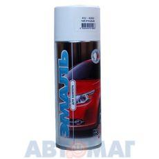 Эмаль алкидная для бампера черная аэрозоль KUDO 520мл