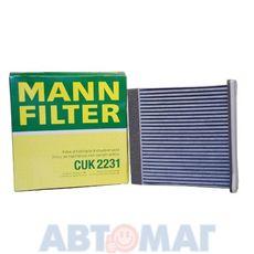 Фильтр салонный угольный MANN CUK 2231