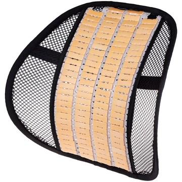 Поддержка спины анатомическая с деревянными вставками