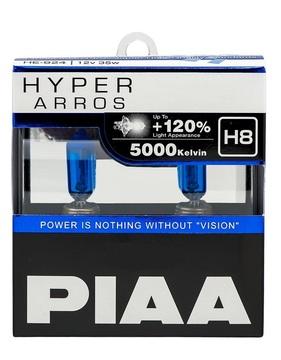 Комплект автоламп PIAA H8 35W 12V 5000K