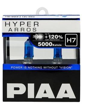 Комплект автоламп PIAA H7 55W 12V 5000K