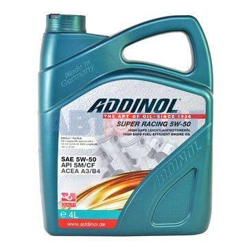 Масло моторное ADDINOL Super Racing 5w50 4л синтетическое