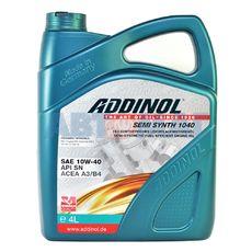 Масло моторное ADDINOL Semi Synth 1040 10w40 4л полусинтетическое