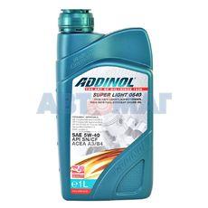 Масло моторное ADDINOL Super Light MV 0540 5w40 1 л синтетическое