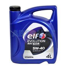 Масло моторное Elf Evolution 900 SXR 5w40 4л синтетическое