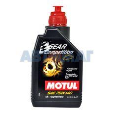 Масло трансмиссионное Motul Gear Competition 75W140 GL-5 1л синтетическое
