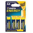 Батарейки VARTA ENERGY AA/LR06 (блистер 4шт)