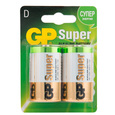 Батарейки GP D Super Alkaline (блистер 2шт)