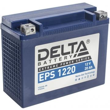 АКБ DELTA EPS 12V24Ah (YTX24HL-BS, YTX24HL)