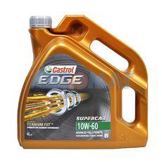 Масло моторное Castrol EDGE 10w60 SuperCar 4л синтетическое