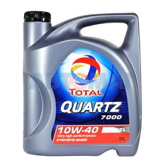 Масло моторное TOTAL Quartz D 7000 10w40 5л полусинтетическое