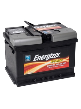 Аккумулятор ENERGIZER 60е 560 409 054 ENERGIZER PREMIUM EM60LB2